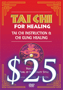 Tai Chi For Healing DVD Front Cover